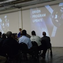 presentation of orion program at Nasa